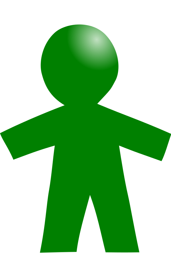 Pictogram child green.svg