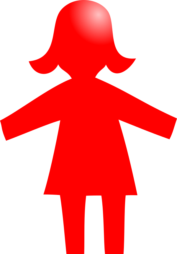Pictogram woman red.svg